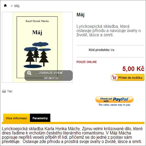 Podrobnější informace o e-knize